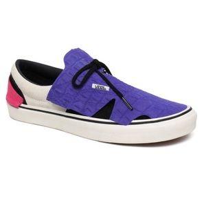 Vans era origami sneaker shoes purple white 8.5